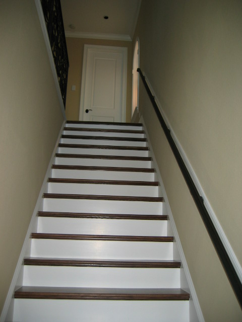 Charmant Back Stairs
